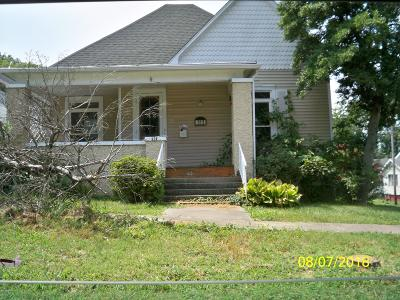 Harrisburg IL Single Family Home For Sale: $35,500