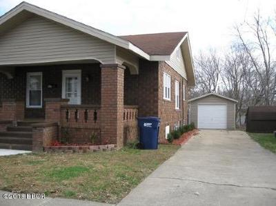 Murphysboro Single Family Home For Sale: 420 N 16th Street
