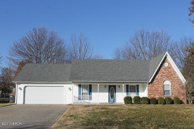 Herrin Single Family Home For Sale: 3021 Willow Branch Drive