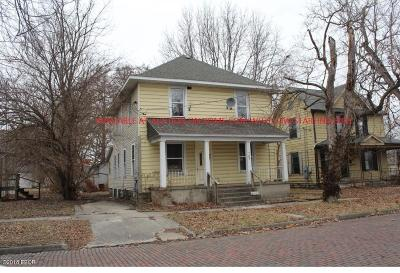 Murphysboro Single Family Home For Sale: 708 North Street
