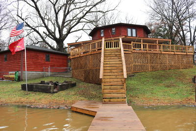 West Frankfort Single Family Home For Sale: 19763 E Old Lake Road