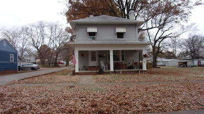 Harrisburg IL Single Family Home For Sale: $79,900