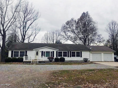 Massac County Single Family Home Active Contingent: 4105 Macedonia Church Road