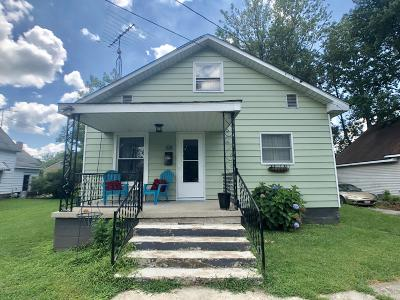 West Frankfort Single Family Home For Sale: 108 E 5th Street