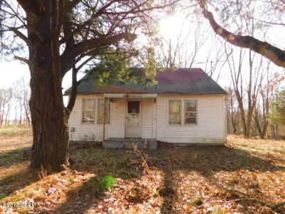 Ava IL Single Family Home For Sale: $15,000
