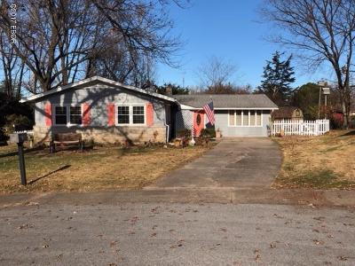 Carbondale Single Family Home For Sale: 1400 W Taylor Drive