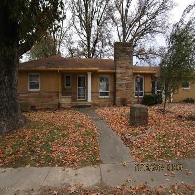 Benton Single Family Home For Sale: 620 Madison Street