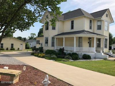 Johnston City Single Family Home For Sale: 509 W Broadway Boulevard