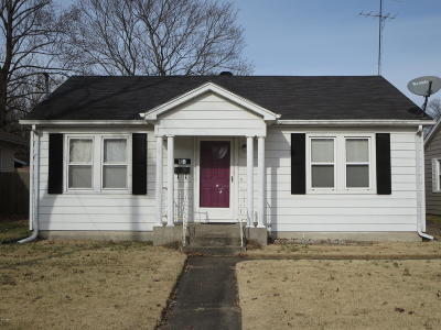 Single Family Home For Sale: 2120 Clay Street