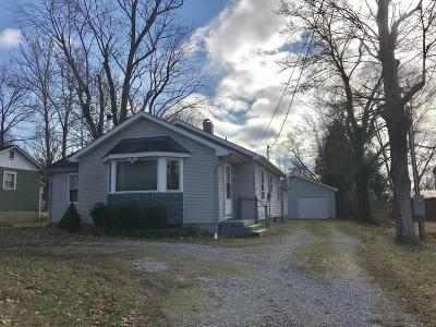 Carbondale Single Family Home For Sale: 1192 E Pleasant Hill Road
