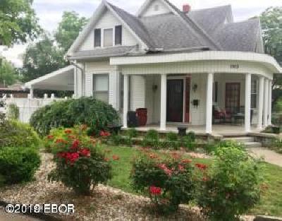 Murphysboro Single Family Home Active Contingent: 1903 Spruce Street
