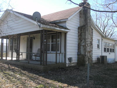 Saline County Single Family Home For Sale: 109 Mitchellsville Road