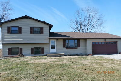 Marion Single Family Home Active Contingent: 11515 Rt 166