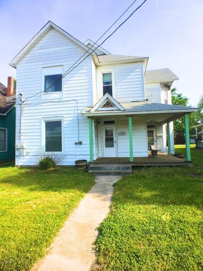 Murphysboro Multi Family Home For Sale: 1832 Pine Street