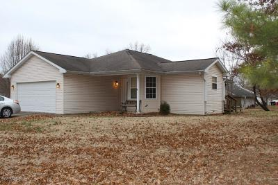 Marion IL Single Family Home For Sale: $116,900