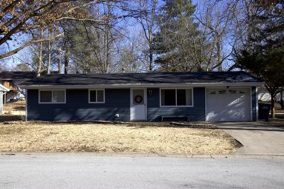 Carbondale Single Family Home For Sale: 1027 W Laurel Street
