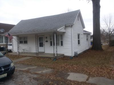 Herrin Single Family Home For Sale: 608 S 18 Th Street