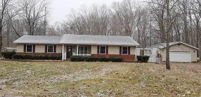 Mt. Vernon Single Family Home For Sale: 16929 N Miller Lake Lane