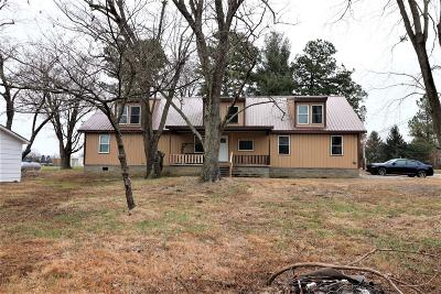 Massac County Single Family Home Active Contingent: 8669 Unionville Road