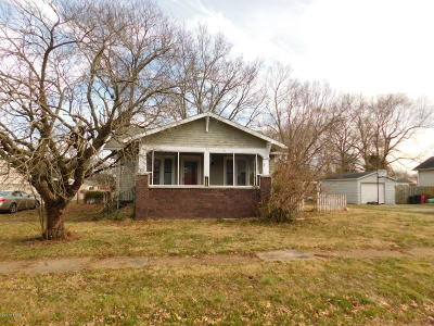 Herrin IL Single Family Home For Sale: $25,000
