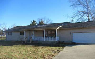 Carterville IL Single Family Home For Sale: $110,000