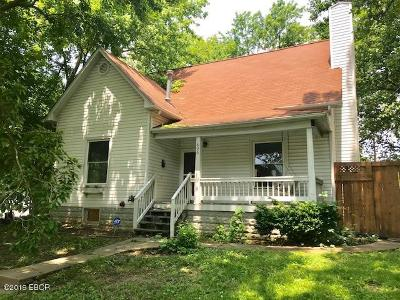 Carbondale IL Single Family Home For Sale: $99,900
