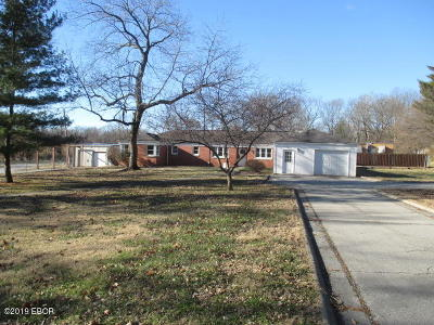 Mt. Vernon Single Family Home For Sale: 601 N 18th Street