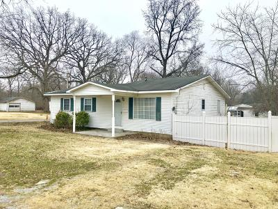 Benton Single Family Home For Sale: 407 Layman Street