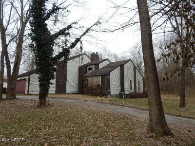 West Frankfort Single Family Home Active Contingent: 1718 Winery Road