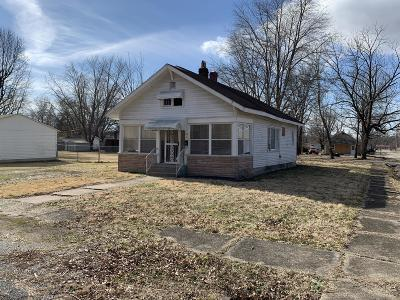 West Frankfort Single Family Home For Sale: 511 N Van Buren Street