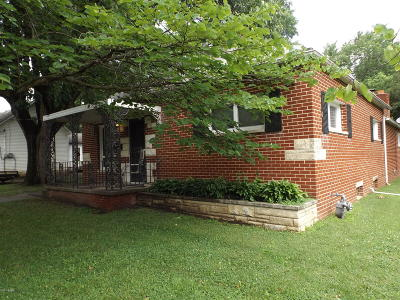 West Frankfort Single Family Home For Sale: 407 E 4th Street