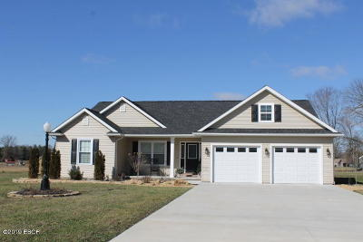 Carterville Single Family Home Active Contingent: 11373 Scottsdale Court