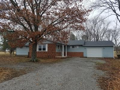 Eldorado IL Single Family Home For Sale: $104,900
