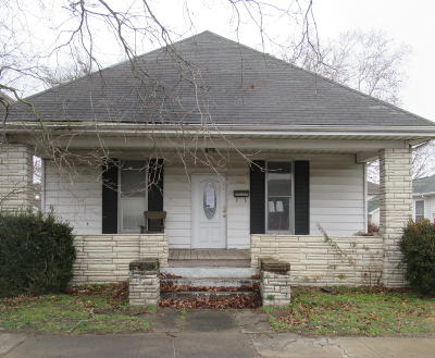 Murphysboro Single Family Home For Sale: 1916 Spruce Street