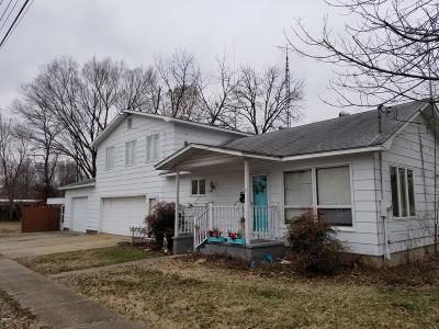 Benton Single Family Home For Sale: 109 Copple Street