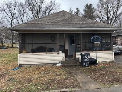 West Frankfort Single Family Home For Sale: 719 N Horn Street