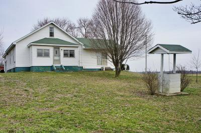 Massac County Single Family Home Active Contingent: 6025 Old Marion Road