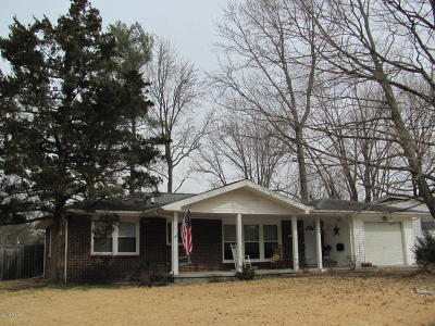 Carbondale Single Family Home For Sale: 1404 W Taylor Drive