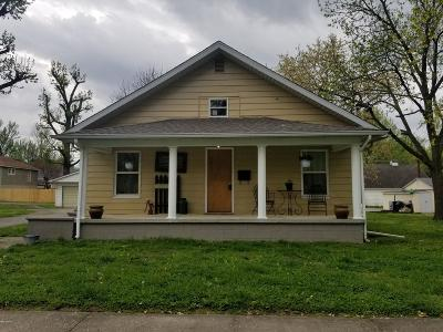 West Frankfort Single Family Home For Sale: 804 E Oak Street