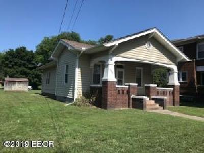 Murphysboro Single Family Home For Sale: 301 N 14th Street Street