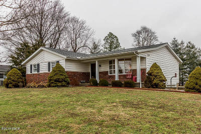 Marion Single Family Home Active Contingent: 1406 Golf Course Road