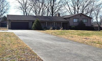 West Frankfort Single Family Home Active Contingent: 11684 Country Club Road