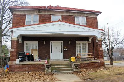 Herrin Single Family Home For Sale: 501 S 16th Street