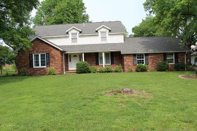 West Frankfort Single Family Home For Sale: 18 Old Johnston City Road