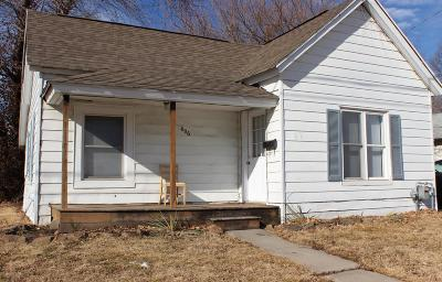 Carbondale Single Family Home For Sale: 606 S Washington Street