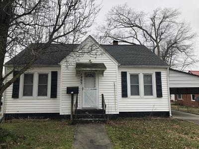 Massac County Single Family Home For Sale: 1405 Metropolis Street