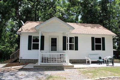 Goreville Single Family Home Active Contingent: 250 Shawnee Dd Drive