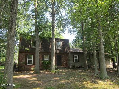 Murphysboro Single Family Home For Sale: 388 Pump House Road