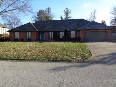 Marion Single Family Home For Sale: 1815 Wolff Drive