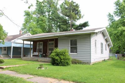 Murphysboro Single Family Home For Sale: 2135 Logan Street